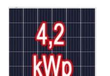 4,20 kW teljesítményű naperőmű - napelem