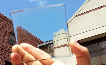 átlátszó napelem