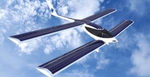 napelemes repülőgép