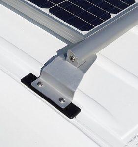 napelem tartó szerkezet